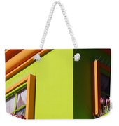 Pastle Corners Weekender Tote Bag