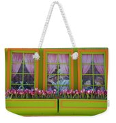 Pastle Windows Weekender Tote Bag