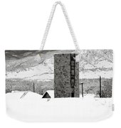 Pastoral Winter Weekender Tote Bag