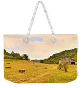 Pastorial Framland In Kentucky Weekender Tote Bag