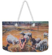 Pasture Acquaintances Weekender Tote Bag