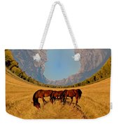 Pasture Of Another World Weekender Tote Bag