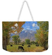 Pasture With A View Weekender Tote Bag