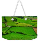 Pastures In The Azores Weekender Tote Bag