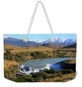 Patagonia Landscape Of Torres Del Paine National Park In Chile Weekender Tote Bag