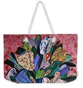 Patchwork Bouquet Weekender Tote Bag
