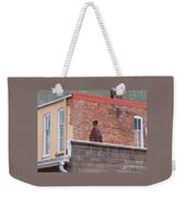 Patchy Weekender Tote Bag