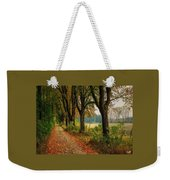 Path Along The Horses Meadow On The Farm Lovedayvale L A S Weekender Tote Bag