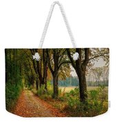 Path Along The Horses Meadow On The Farm Lovedayvale L B Weekender Tote Bag