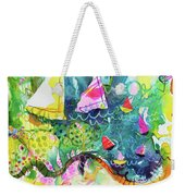 Path Around The Lake Weekender Tote Bag