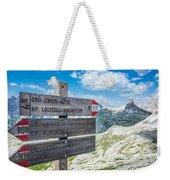 Path Directions Weekender Tote Bag