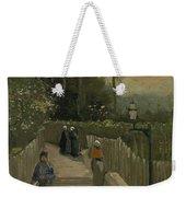 Path In Montmartre Paris  April - May 1886 Vincent Van Gogh 1853  1890 Weekender Tote Bag