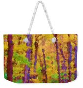 Path In The Woods Weekender Tote Bag