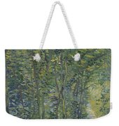 Path In The Woods Paris, May 1887 - July 1887 Vincent Van Gogh 1853  1890 Weekender Tote Bag