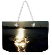 Path Of Sunlight On The Sea Weekender Tote Bag