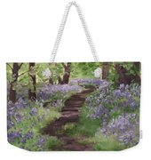 Path Through The Bluebells Weekender Tote Bag