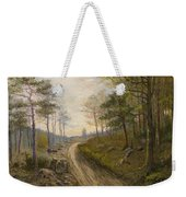 Path Through The Forest Weekender Tote Bag