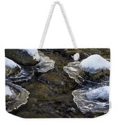 Path Through The Ice Weekender Tote Bag