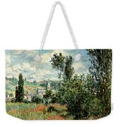 Path Through The Poppies Weekender Tote Bag by Claude Monet