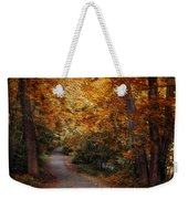 Path To Autumn  Weekender Tote Bag