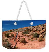 Path To Double O Arch Arches National Park Weekender Tote Bag