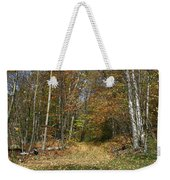 Path To Joiner Brook Weekender Tote Bag
