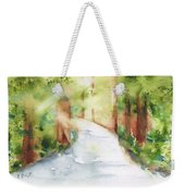 Path To Light Watercolor Weekender Tote Bag