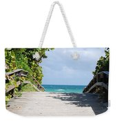 Path To Paradise Weekender Tote Bag