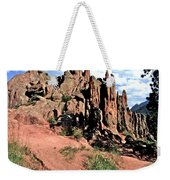 Path To Red Rocks Weekender Tote Bag