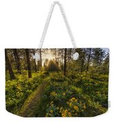 Path To The Golden Light Weekender Tote Bag