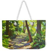 Path To The Lake Weekender Tote Bag