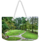 Path To The Mound Weekender Tote Bag