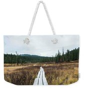 Path To The Unknown Weekender Tote Bag