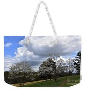 Pathway Along The Dogwood Trees Weekender Tote Bag