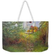 Pathway From The Treehouse Weekender Tote Bag