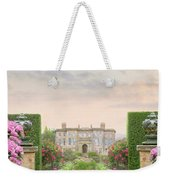Pathway Leading To A Mansion Through Beautiful Gardens Weekender Tote Bag