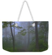 Pathway Through The Fog Weekender Tote Bag