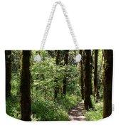 Pathway Through The Woods Weekender Tote Bag