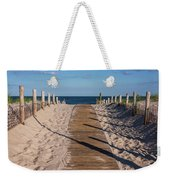 Pathway To Beach Seaside New Jersey Weekender Tote Bag