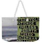 Patience Weekender Tote Bag