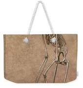 Patient Weekender Tote Bag by James W Johnson