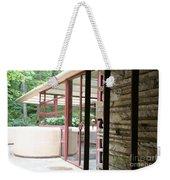 Patio Fallingwater  Weekender Tote Bag