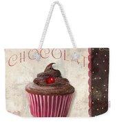 Patisserie Chocolate Cupcake Weekender Tote Bag