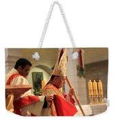 Patriarch Fouad Twal At Christmas Mass Weekender Tote Bag