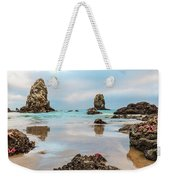 Patrick And Friends Visit Cannon Beach Weekender Tote Bag