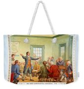 Patrick Henry, First Continental Weekender Tote Bag