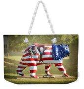 Patriot Bear Weekender Tote Bag
