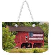Patriotic Farmer Weekender Tote Bag