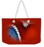 Patriotic Heart Weekender Tote Bag