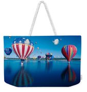 Patriotic Hot Air Balloon Weekender Tote Bag